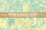 Fantasy Marble Digital Papers Abstracts Background