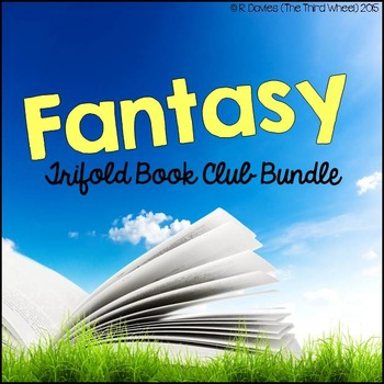No Prep Foldable Novel Study Units - Fantasy Bundle
