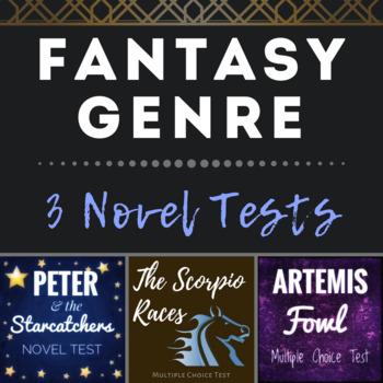 Fantasy Novel Genre -- Three Multiple Choice Tests