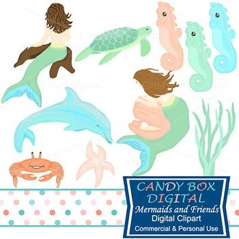 Fantasy Ocean Clip Art