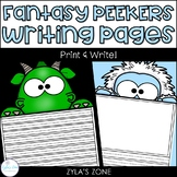 Fantasy Peekers Writing & Craft Pages