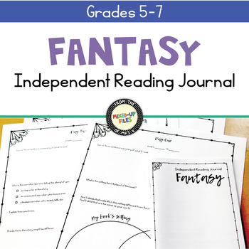 Fantasy Reading Response Journal