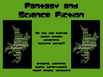 Fantasy & Sci-Fi Genre Poster