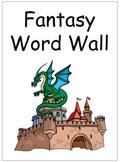 Fantasy Sight Word Wall Folder