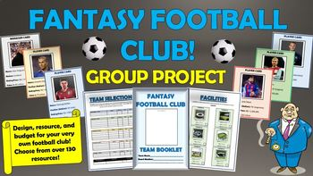 Fantasy Soccer Club Group Project!