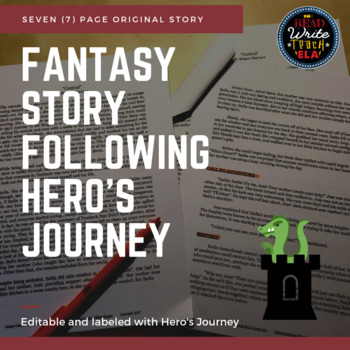 Fantasy Story following Hero's Journey