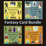 Task Card Bundle, Storytelling, Creative Writing, CCSS, Fun, Sub Plan, Fiction