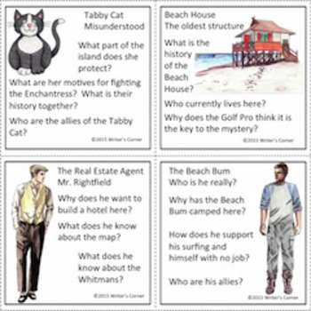 Task Cards (Set Four) Storytelling, Creative Writing, Fun, Sub Plan, Fiction