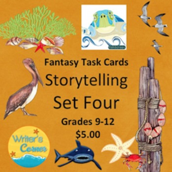Task Cards (Set Four) Storytelling, Creative Writing, Fun,