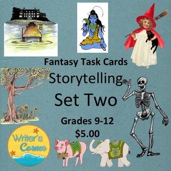 Fantasy Task Cards (Storytelling Set Two) Creative Writing