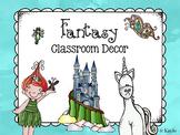 Fantasy Theme Classroom Decoration