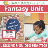 Fantasy Unit: 20 Lessons & Activities, Traditional Literature & Modern Fantasy