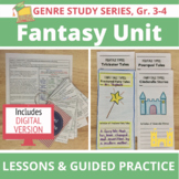 Fantasy Unit: 20 CC-Aligned Lessons, Traditional Literature & Modern Fantasy