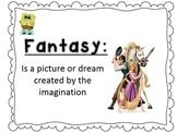 Fantasy VS Reality Powerpoint