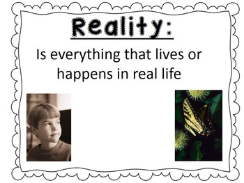 Fantasy VS Reality Powerpoint