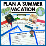 PLAN A SUMMER VACATION   PROJECT BASED LEARNING MATH ACTIVITIES