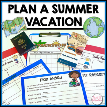 PROJECT BASED LEARNING: Plan a Fantasy Vacation