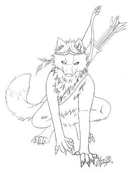 Fantasy Werewolf Warrior