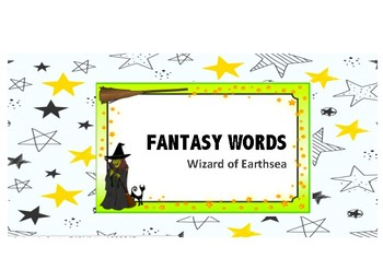 Fantasy Words Word Wall