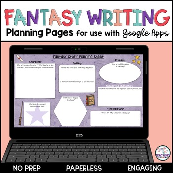 Fantasy Writing Planning Pages Google Edition