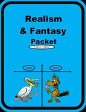 Fantasy and Realism Packet Center Activities