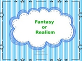 Fantasy and Realism PowerPoint