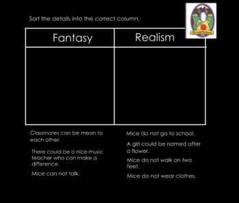 Fantasy and Realism Smartboard Lesson