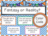 Fantasy and Reality Color Code