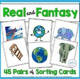Real or Fantasy Sorting Activity