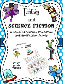 Fantasy and Science Fiction Genre Intro and Activity