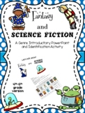 Fantasy and Science Fiction Genre Intro and Activity for 4