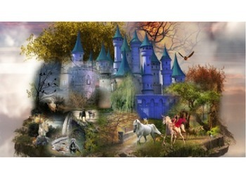 Fantasy images to inspire and encourage description when writing story settings