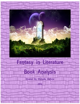 Fantasy in Literature / Book Analysis