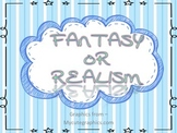 Fantasy or Realism File Folder Game