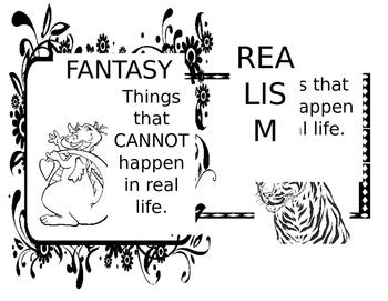 Fantasy or Realism Poster