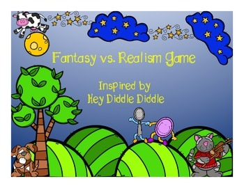 Fantasy or Realism {Inspired by Hey Diddle Diddle}
