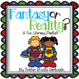 Fantasy vs. Reality Literacy Pack
