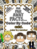 Far Far Away! A galaxy of fun! Color by code color by numb