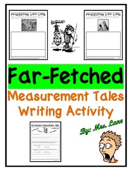 Far-Fetched Measurement Tales Writing Activity