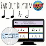 Far Out Rhythm: Half Notes