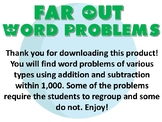 Far Out Word Problems within 1000