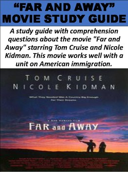 """""""Far and Away"""" Movie Study Guide"""