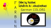 Farben - Color by Number Schultüte & Lebkuchenhaus