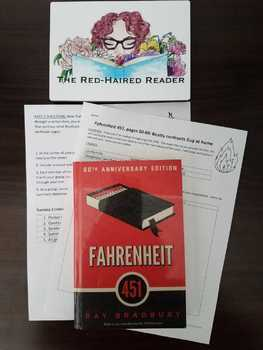 Fahrenheit 451 Part 1 pages 50-60 analysis and poster activity