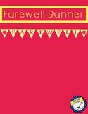 Farewell Banner