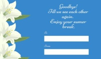Farewell Note Cards and Gift Tags Bundle