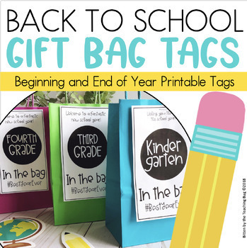 Student Gift Tags and Labels