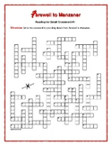 Farewell to Manzanar: 2 Reading-for-Detail Crosswords—Good Review!