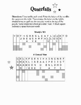 Farewell to Manzanar: 34 PAGES OF WORD PUZZLES—Fun & Educational!