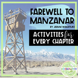Farewell to Manzanar Chapter Activity Printables